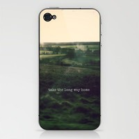 take the long way home iPhone & iPod Skin by phoebe ford reid | Society6