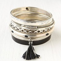 Free People Hard Bangle Set