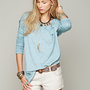 Free People Super Soft Washed Pullover