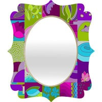 DENY Designs Home Accessories | Paula Ogier Sweet Air Quatrefoil Mirror