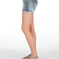 Miss Me Embellished Stretch Short - Women's Shorts | Buckle