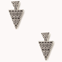 Zigzag Arrowhead Earrings