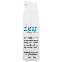 Sephora: Philosophy : Clear Days Ahead™ Fast-Acting Salicylic Acid Acne Spot Treatment : face-treatments-serums-skincare