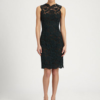 Valentino - Heavy Tubino Lace Dress