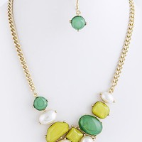 Marlena Bejeweled Necklace