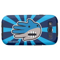 Shark mouth galaxy s3 cover from Zazzle.com