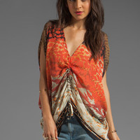 Da-Nang Drawstring Front Top in Dreamcatcher from REVOLVEclothing.com