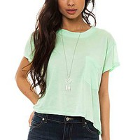 Cheap Monday Tee Holly in Kiwi Green