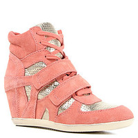 Ash Shoes The Bea Sneaker in Peach Platine
