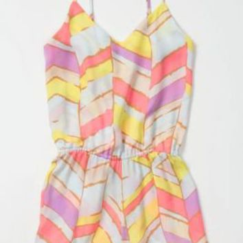 Summer Chevrons Romper - Anthropologie.com