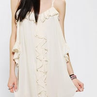 Urban Outfitters - Lovecat Off-The-Shoulder Drapey Dress