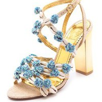 Tory Burch Ambrosia Embellished Sandals | SHOPBOP