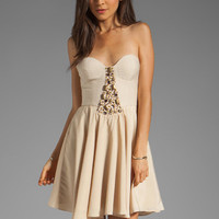 Ladakh To Wonderland Dress in Sand from REVOLVEclothing.com