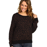 Free People Cool Leopard Pullover