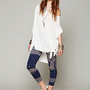 Free People   Patchwork Knit Legging at Free People Clothing Boutique