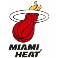 Miami Heat Static Cling Decal RICO