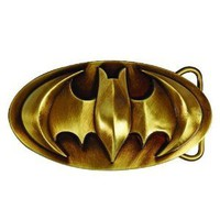 Batman 3D Bronze Belt Buckle