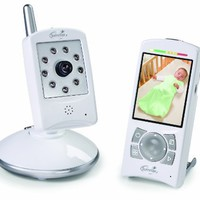 Summer Infant Sleek and Secure Hand Held Video Monitor, White/ Silver:Amazon:Baby