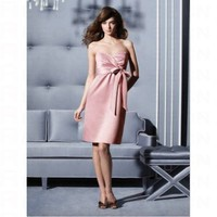 Sheath Sweetheart With Ruffle Detail Bridesmaid Dress 2792 - Wedding Party Dresses - Apparel
