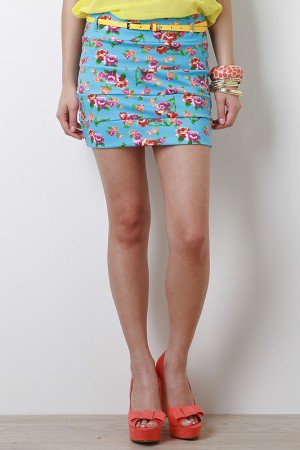 Sprung On Spring Skirt