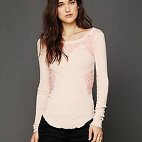 Free People  FP X Soutache Waffle Scoop Thermal at Free People Clothing Boutique