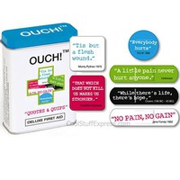Ouch! Quotes And Quips Bandages