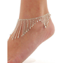 http://abby.storenvy.com — Diamond oranges foot chain
