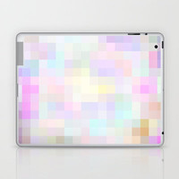 Re-Created Colored Squares No. 40 Laptop & iPad Skin by Robert Lee