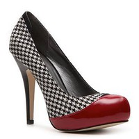 Madden Girl Flirrt Houndstooth Pump