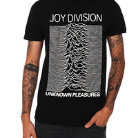 Joy Division Unknown Pleasures Slim-Fit T-Shirt | Hot Topic