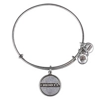 Alex and Ani Cornell University Logo Charm Bangle - Russian Silver