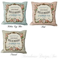 French Country Accent Pillows