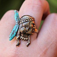 alapop — little indian cheif ring