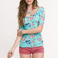 Kirra Elbow Sleeve Ballet Tee at PacSun.com