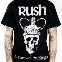 Rush, T-Shirt, Farewell To Kings