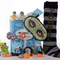The unDead UnBasket: Zombie Gift Basket - Whimsical & Unique Gift Ideas for the Coolest Gift Givers