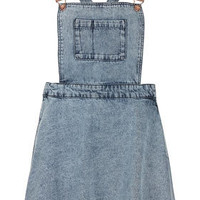 MOTO Acid Denim Pini Dress