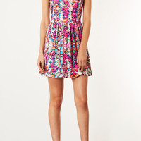 Summer Floral Flippy Dress - Topshop USA