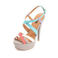 X-Front Color Block Pump: Charlotte Russe