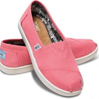 Pink Canvas Youth Classics