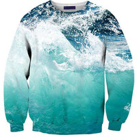 Ocean Wave Sweater | Shelfies - Outrageous Sweaters