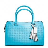 Coach :: Legacy Perforated Leather Haley Satchel
