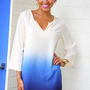 Fade For Me Tunic: Navy Ombre | Hope's