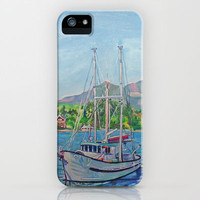 The Murralet At Winter Harbour iPhone & iPod Case by Morgan Ralston