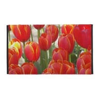 Orange Tulip Blooms iPad Folio Cover from Zazzle.com