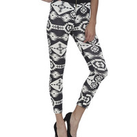 Zip Front Tribal Legging | Shop Bottoms at Wet Seal