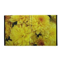 Yellow Mums iPad Case from Zazzle.com