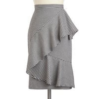 Nine to Thrive Skirt | Mod Retro Vintage Skirts | ModCloth.com