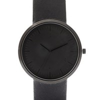 ASOS Sleek Monotone Strap Watch at asos.com