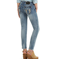 Miss Me Wing-Pocket Ankle Skinny Jeans | Dillards.com